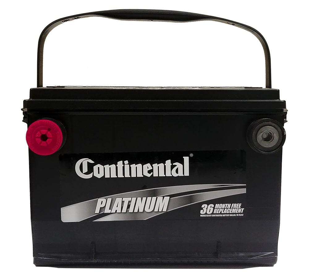 36 Month Continental Car Battery