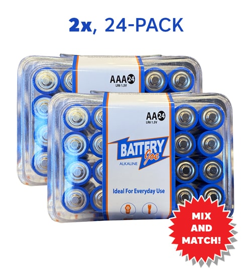 AA/AAA 2x for $9.99 Mix and Match