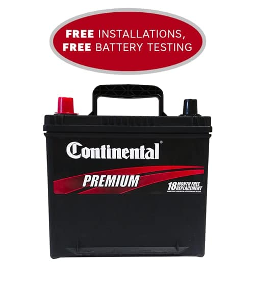 Car Battery Platinum Edition with 18 Month Warranty