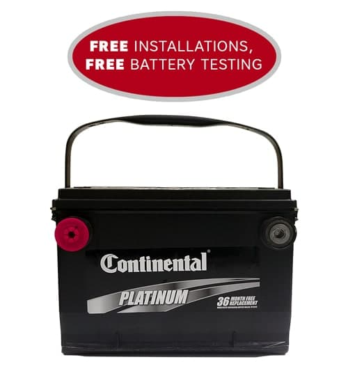 Car Battery Platinum Edition with 36 Month Warranty